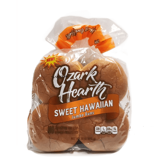 Sweet Hawaiian Sandwich Buns